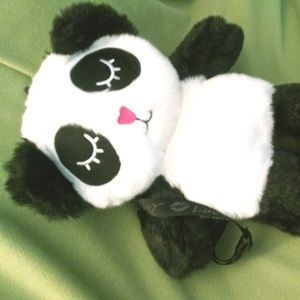Luv Betsey Johnson RARE panda backpack